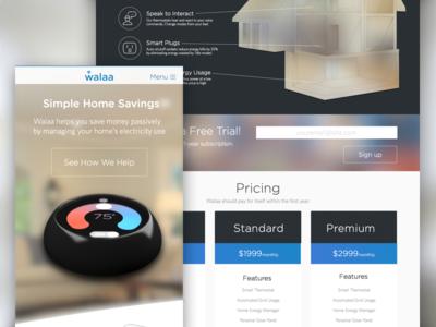 Energy Management Startup - Marketing Site