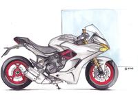 Ducati Supersport sketch
