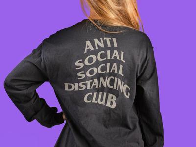 Anti Social Social Distancing Club | Long-sleeve