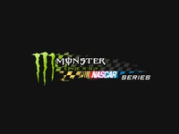 Monster Energy + Nascar Logo Design