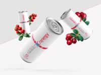 Cranergy | Energy Drink Packaging