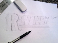 Revive Hand Lettering