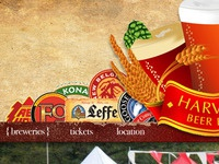 Beer Festival Landing Page