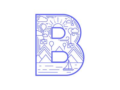 B for Bon Voyage