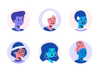 Workload Character Avatars