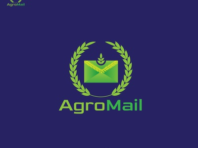 Agromail a couriar company unsold logo logodesign logo design logo designer logo