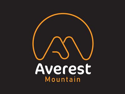 A+M letter mountain logo lettermarklogo lettermark logodesign logo designer logo logo design