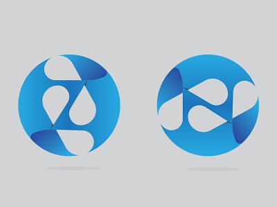 Z or N letter modern 3D logo 3dlogo modern logo blue abstract abstract logo abstractlogo logodesign logo designer logo design logo