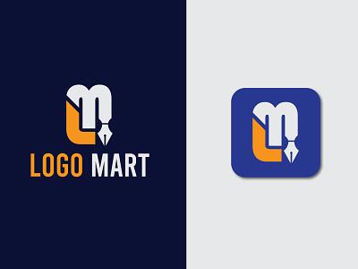Logo Mart logo combine branding logo branding lm logo lm creative logo creative minimal logo minimal modern logo modern clean logo abstract abstract logo abstractlogo logodesign logo designer logo design logo