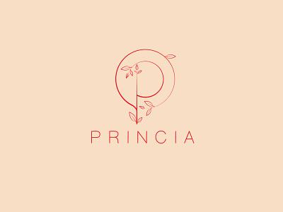 Princia logo clean logo modern logo creative logo best logo logo idea p letter logo p minimal logo minimal abstract abstract logo abstractlogo logodesign logo designer logo design branding logo