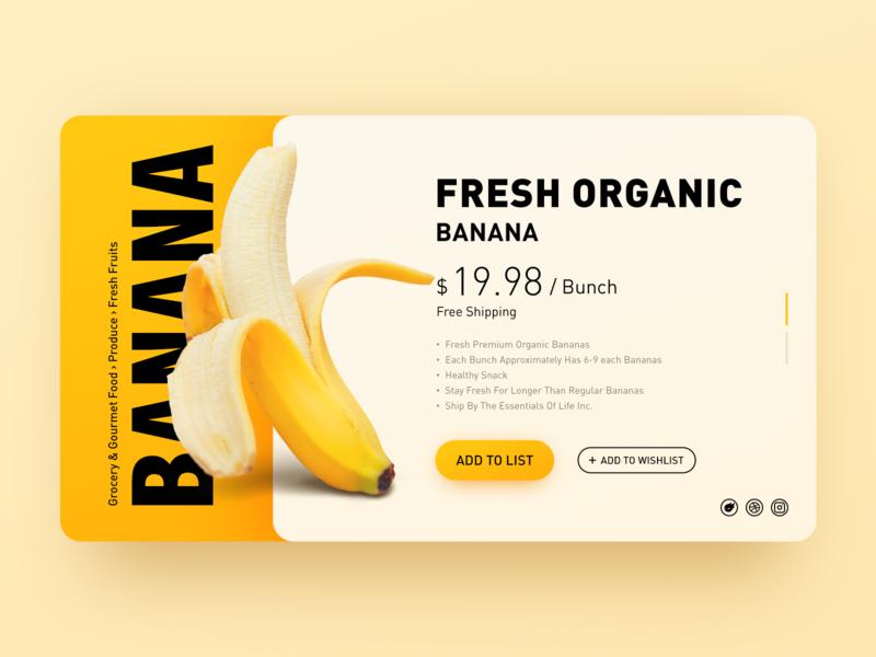 Banana(#02 Shots for Practice)
