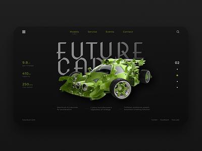 Concept of FutureCar wheels auto tuning dribbble drift speed rally cars car figma branding website web ux ui pinterest design figmauxuiwebdesigndribbledesign