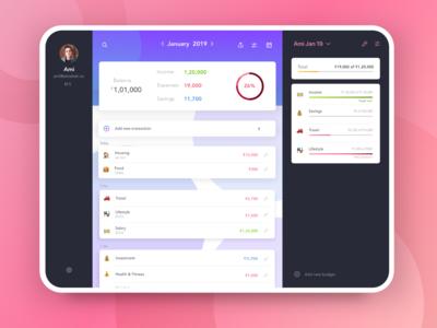 Budget Planner for Desktop