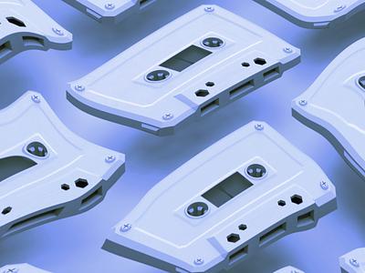 Mixtapes 3d for designers cinema 4d music hip hop 3d cassette mixtapes