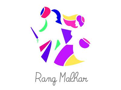 Rang Malhar logo design symbol clean branding logo