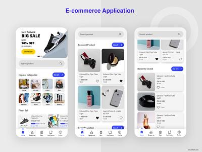 E commerce Application xcode online shopping online store laravel php app design photoshop ecommerce design swift javascript java ui  ux webdevelopment android app ios app ecommerce app