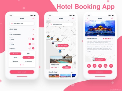 Hotel Booking App payment gateway payment method app design react native ui  ux online booking ionic framework webdevelopment photoshop php laravel javascript java swift mobileappdevelopment android app ios app airbnbclone