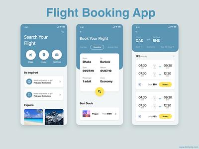 Flight Booking App react native ionic framework webdevelopment photoshop mobileappdevelopment android app swift php laravel javascript java ios app