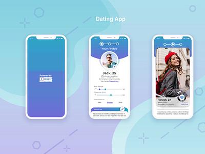 Dating App php webdevelopment react native ionic framework swift photoshop javascript java android app ios app