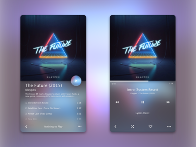 Music Player (WIP) play ui ios player music