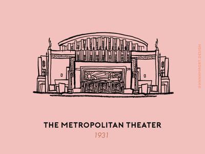 The Metropolitan Theater in Manila