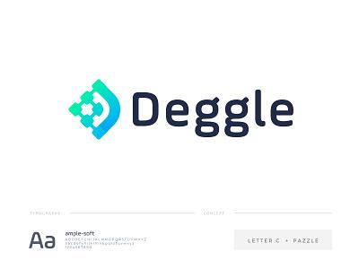 deggle logo logodesign identity letter d letter logo design gradient designer design pazzle minimal modern logo