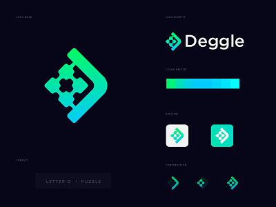 letter D and puzzle logo concept logo design best logo protfolio logo logodesign branding creative modern abstract opqrstuvwxyz abcdefghijklmn letter mark puzzle icon mark concept design