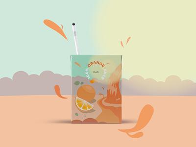 Juice packaging design illustrator design graphic illustration 2d illustration vector packing