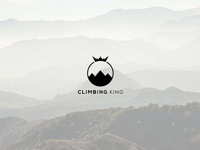 Climbing king fiverr.com fiverr modernlogo minimalist logo design creative  design creative mountain king climbing business logo insignia branding minimalist minimalistic logos creative design clean modern logo logo