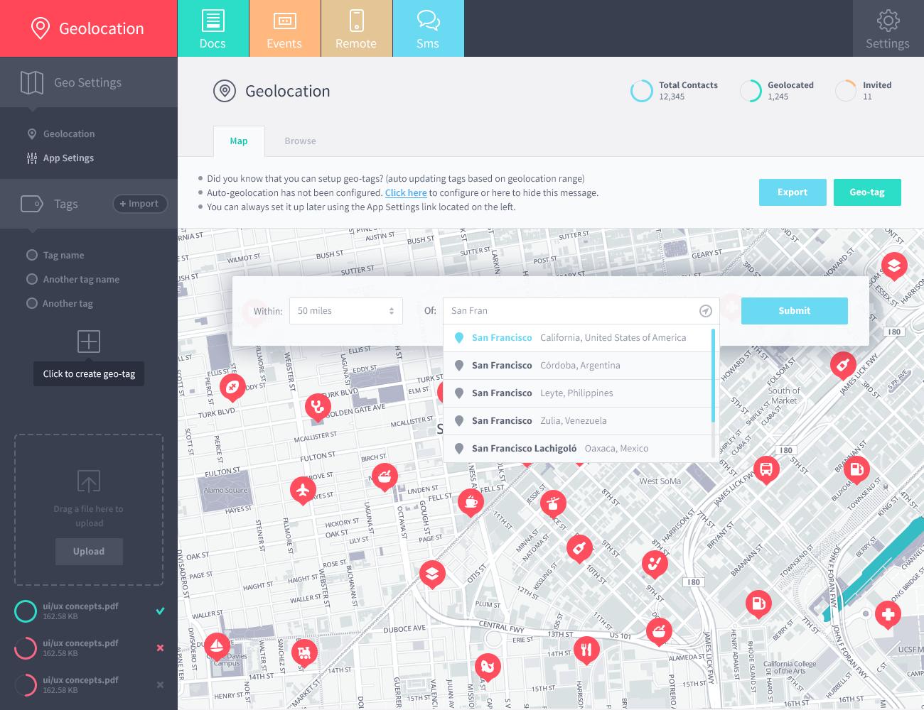 Flow Map Design Website