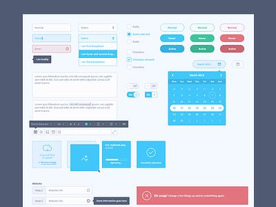 Ui Kit ui kit inputs select radio checkbox toggle buttons file uploading alerts graphs charts form