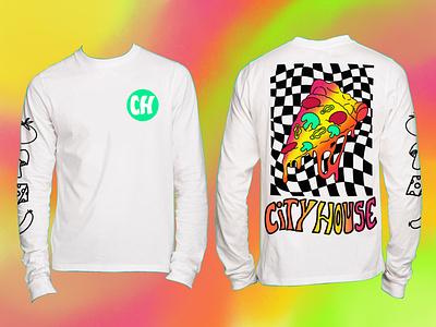 City House Nashville T-Shirt typography branding design