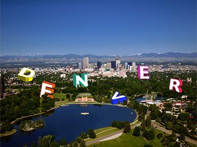 Denver, CO Graphic design branding typography minimal