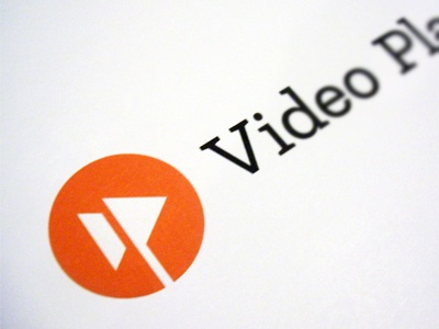 Video Playerr™ Logo (WIP) video playerr logo fast forward stream online klinic slab
