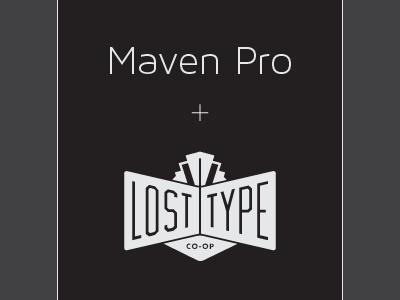 Maven Pro Light Collection