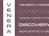 Venera Now Available!