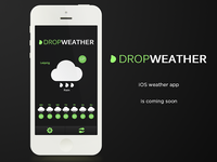 Drop Weather mobile concept