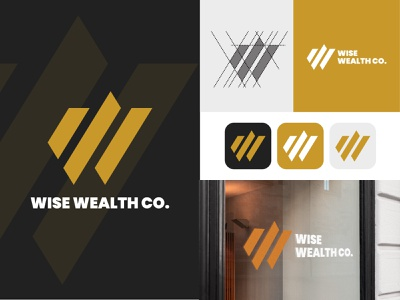 Wise Wealth Co. Logo Design brandidentity brandmark branding concept brand designer identity design finance logo graphic design illustration minimalist logo logo designer brand design symbol brand design brand identity logo branding logotype logo design