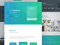 PSD Template Designing WIP