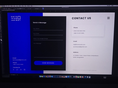 Personal vCard - Contact 2016 ux ui web resume vcard personal contact education experience