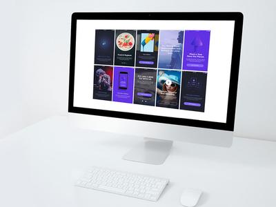 Flow | Walkthrough & Introduction Screens