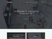 Multipurpose landing page