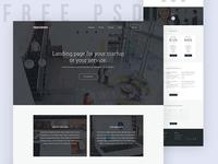 Freebie | Slab – Multipurpose Bootstrap Template website visual design freebie free psd inspiration colorful blue download startup web ui homepage