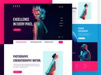 Studio Website - Homepage