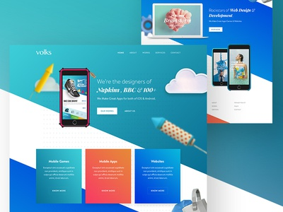 Digital product design agency website by ali sayed for Digital product design agency