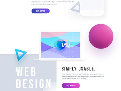 OPER - Design Agency Website web design agency ui ux clean minimal trend 2017 landing page creative apps website
