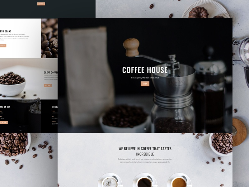 Download Free Coffee Shop Layout Pack