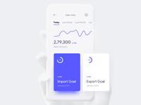 iPhone X UI - Dashboard