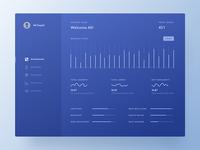 Conceptual Dashboard UI - Analytics