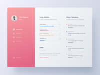 Conceptual Dashboard | Stats UI